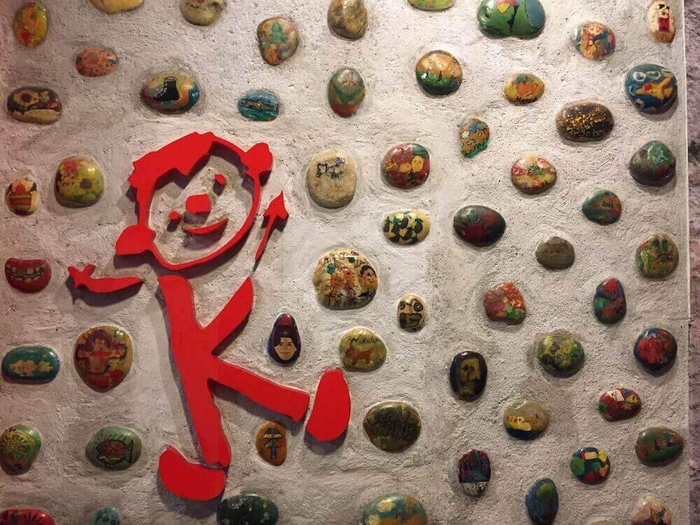 rock wall at creativekids